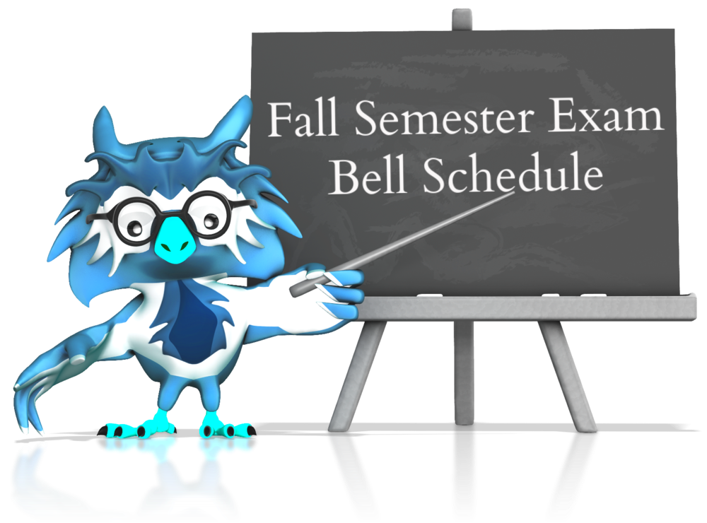 See the Bell Schedule
